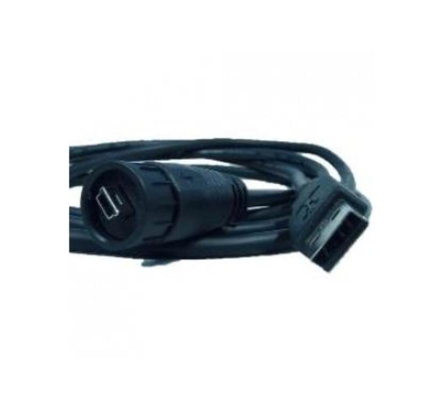 waterproof locking USB kabel
