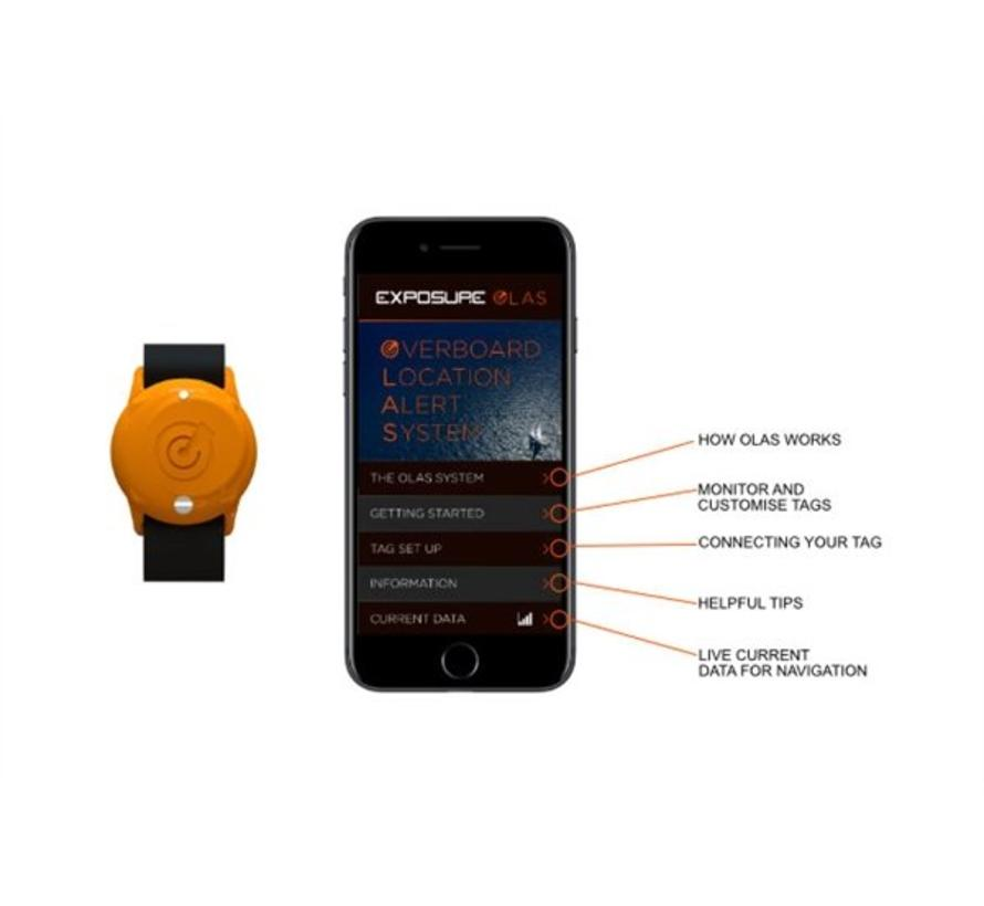 Exposure Marine OLAS (Overboard Location Alert System)