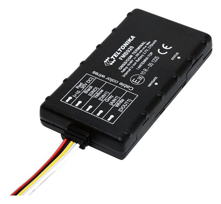 FMB920 GPS tracker met accu