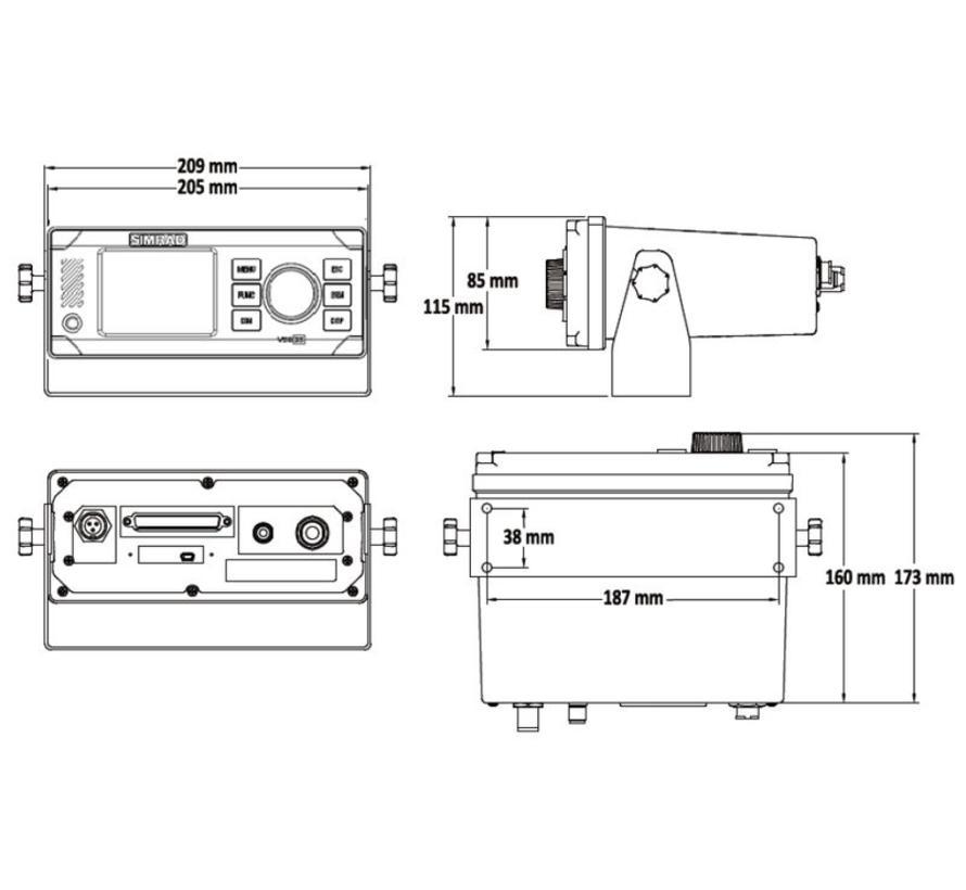AIS V5035 Class A Transponder