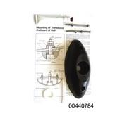 Nasa marine 150 kHz thru-hull zender montagekit