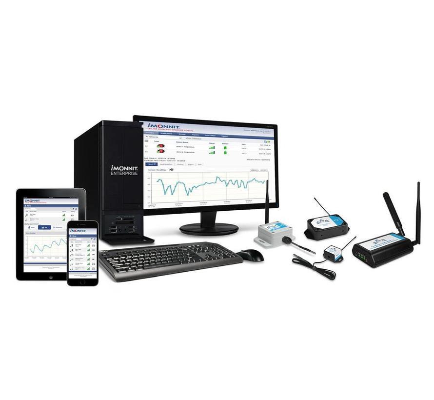 Premiere Licentie voor een netwerk van 1-6 sensoren