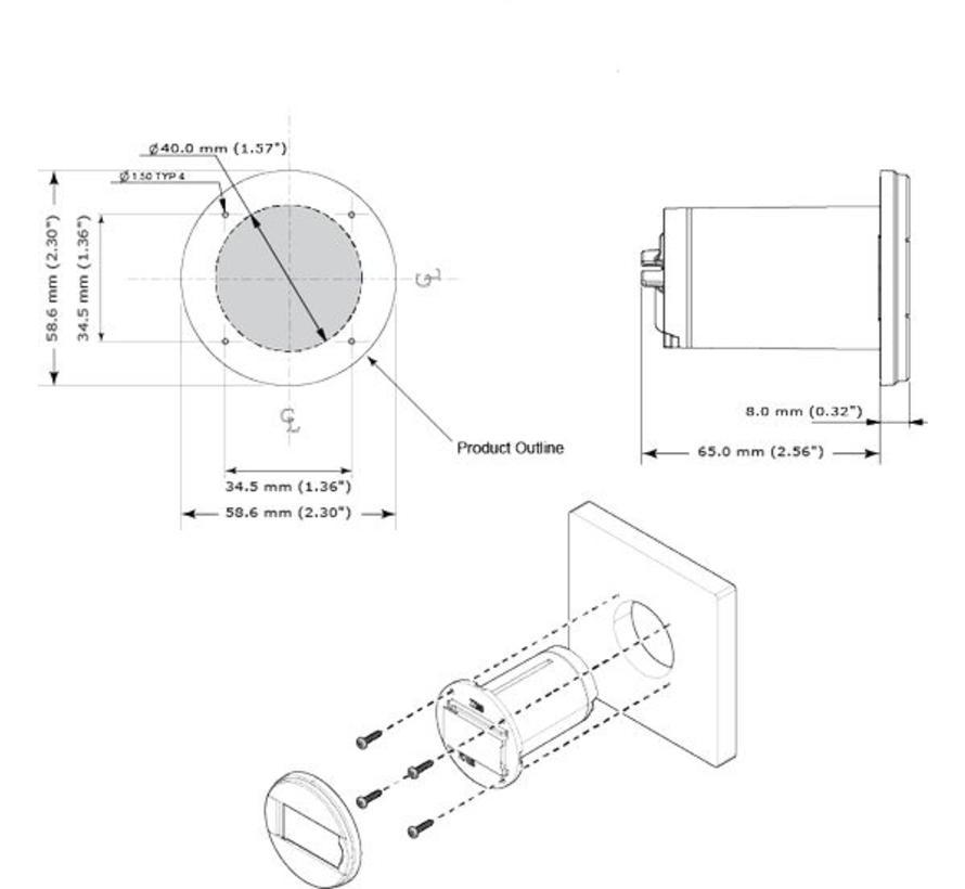 Mi10 Dashmount Micro Sd Card Reader