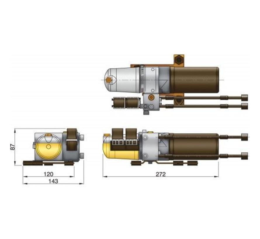 Elektro-Hydraulische pomp, type C