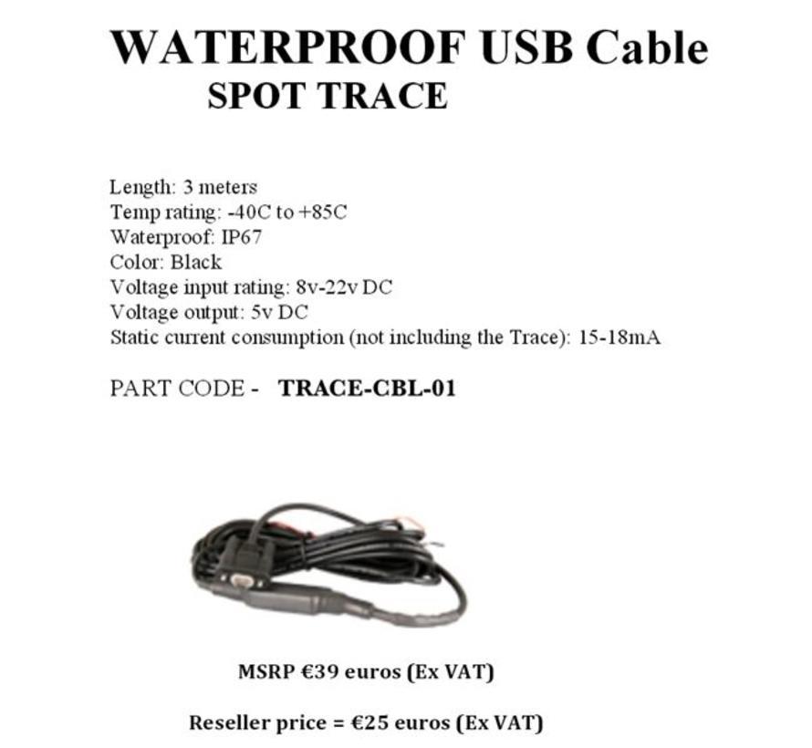 SPOT Trace USB kabel