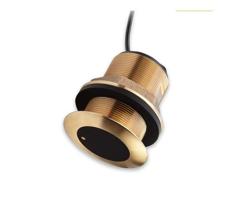 CPT-S Bronze 0° Through Hull CHIRP Transducer
