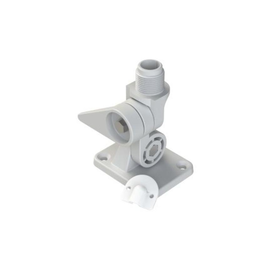 SeaMaster antenne kantelvoet wit