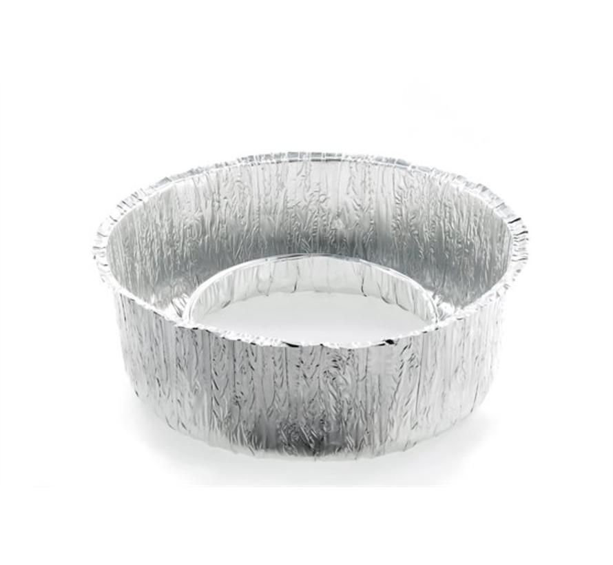 Aluminium wegwerp kom (6 stuks)