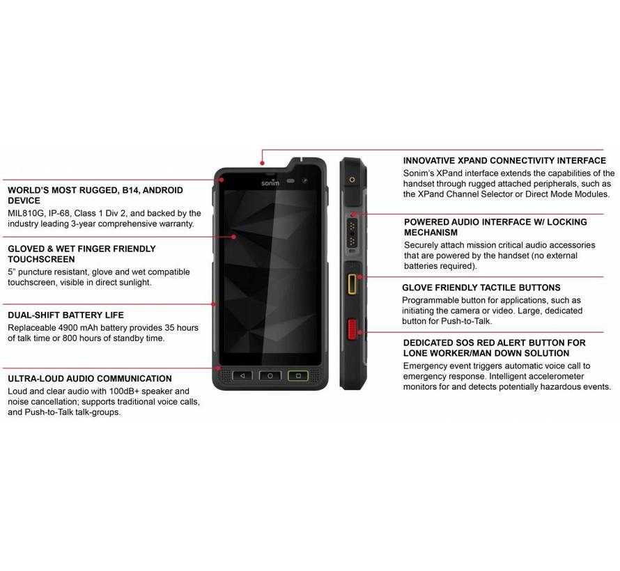 XP8 rugged smartphone