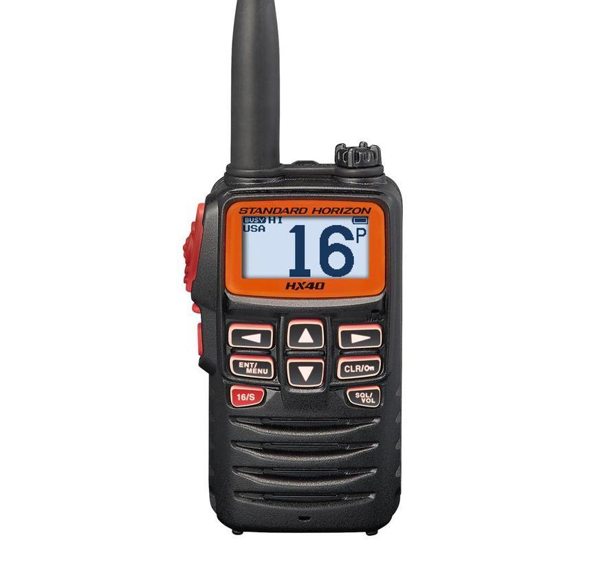 HX40E Extreem Compacte Marine Handheld VHF