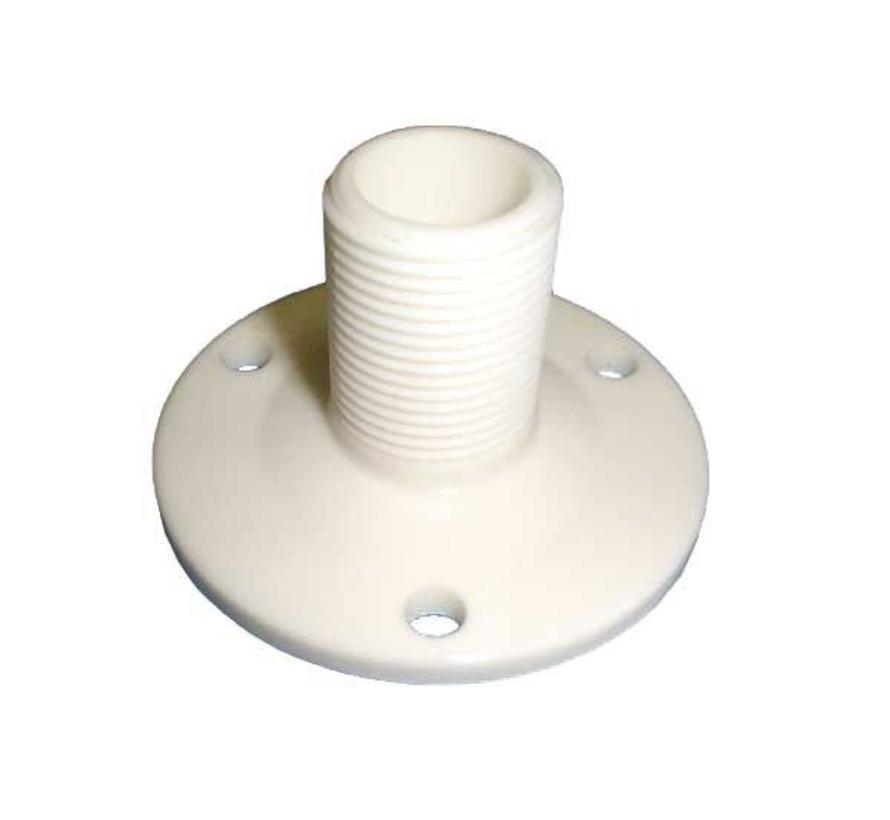 witte nylon antennevoet