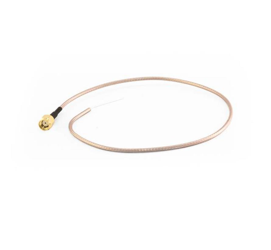 Pigtail RP-SMA-stekker, 400 mm RG316 kabel