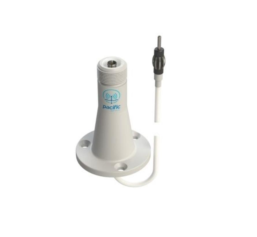 SeaMaster - P6169 FM+AM dek steun met 5 meter kabel