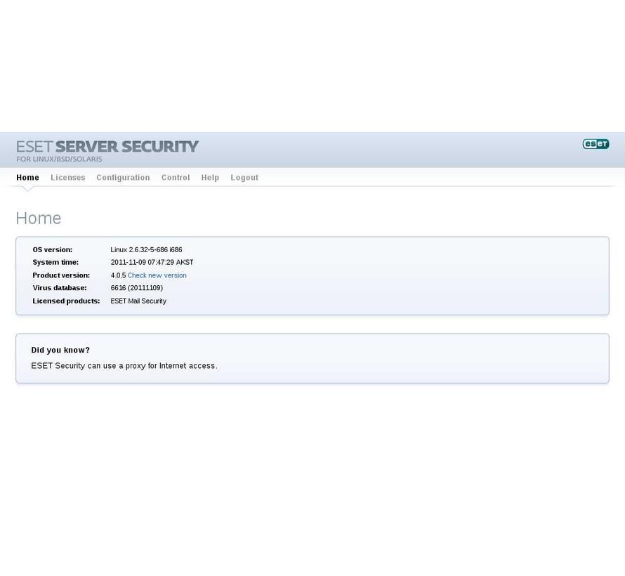 Mail Security voor Linux / BSD / Solaris