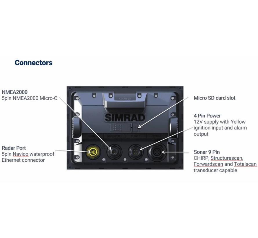 GO9 XSER met Active Imaging 3-IN-1 Transducer