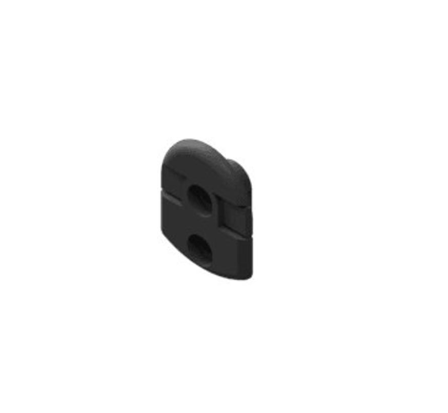 Link-9 bevestigingsklem voor vuistmicrofoon