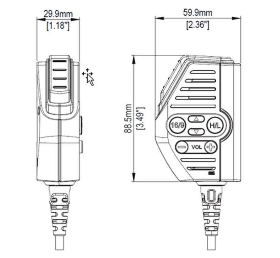 Link-9 vuistmicrofoon