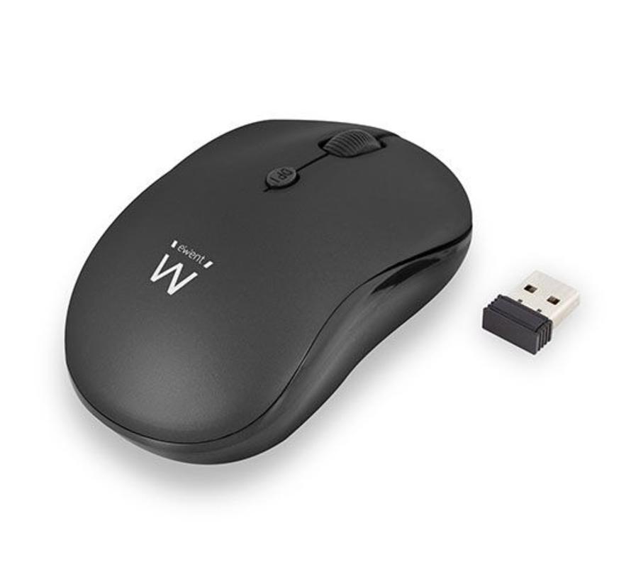 Draadloze muis, zwart 1000 dpi