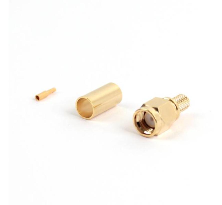 RP-SMA-connector voor HDF200 / RG58-kabels