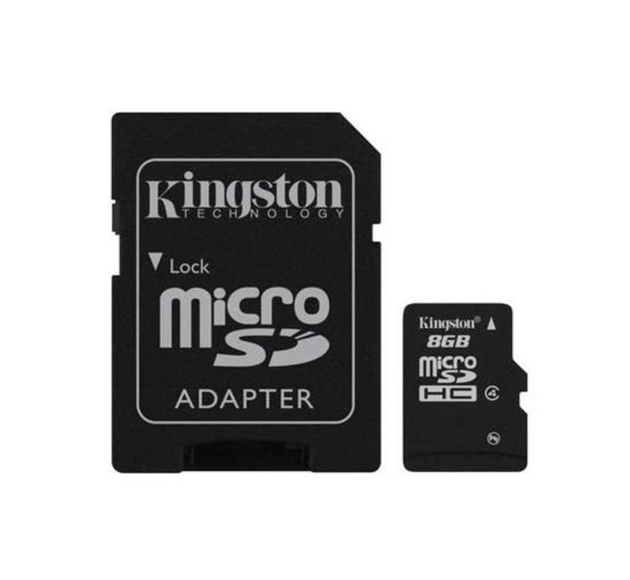8GB MicroSD flashgeheugen