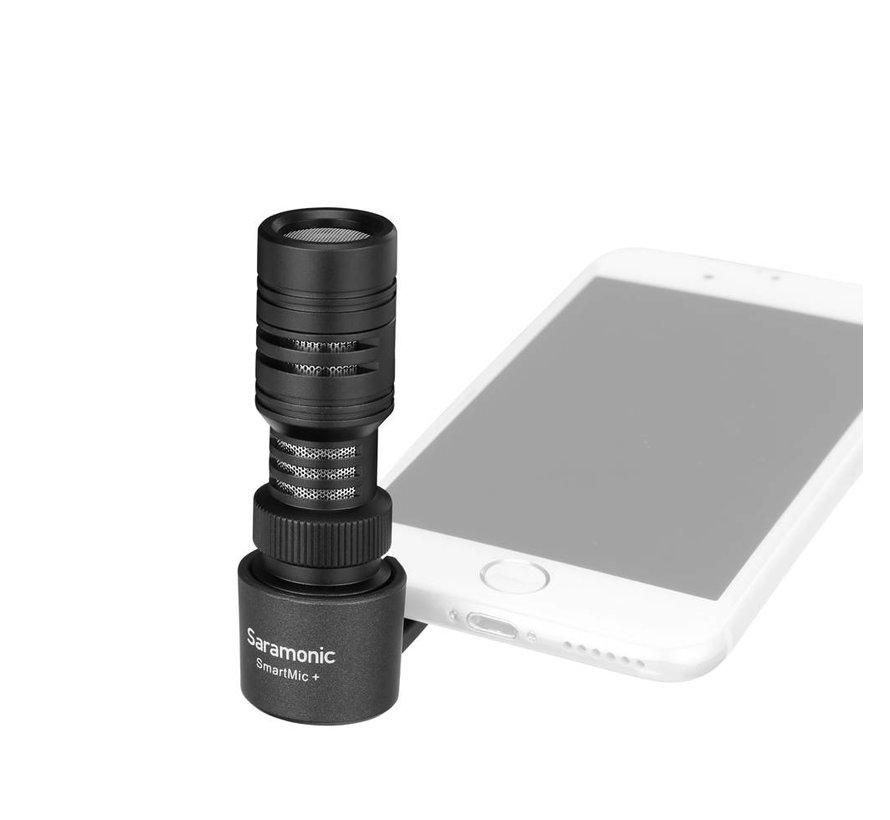 SmartMic+ compact TRRS condensator microfoon