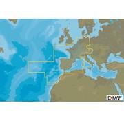 C-Map centraal en west Europa Continental - 4D