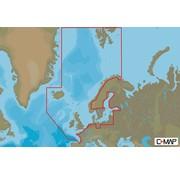 C-Map noord en centraal Europa Continental - 4D
