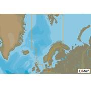 C-Map Noordzee en Denemarken - 4D