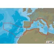 C-Map Europese kusten zuid-West - 4D