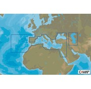 C-Map Zuid Europa Continentaal - 4D