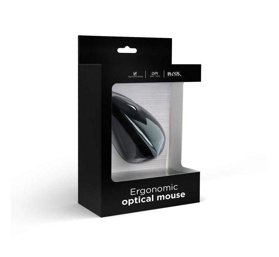 ergonomische muis zwart