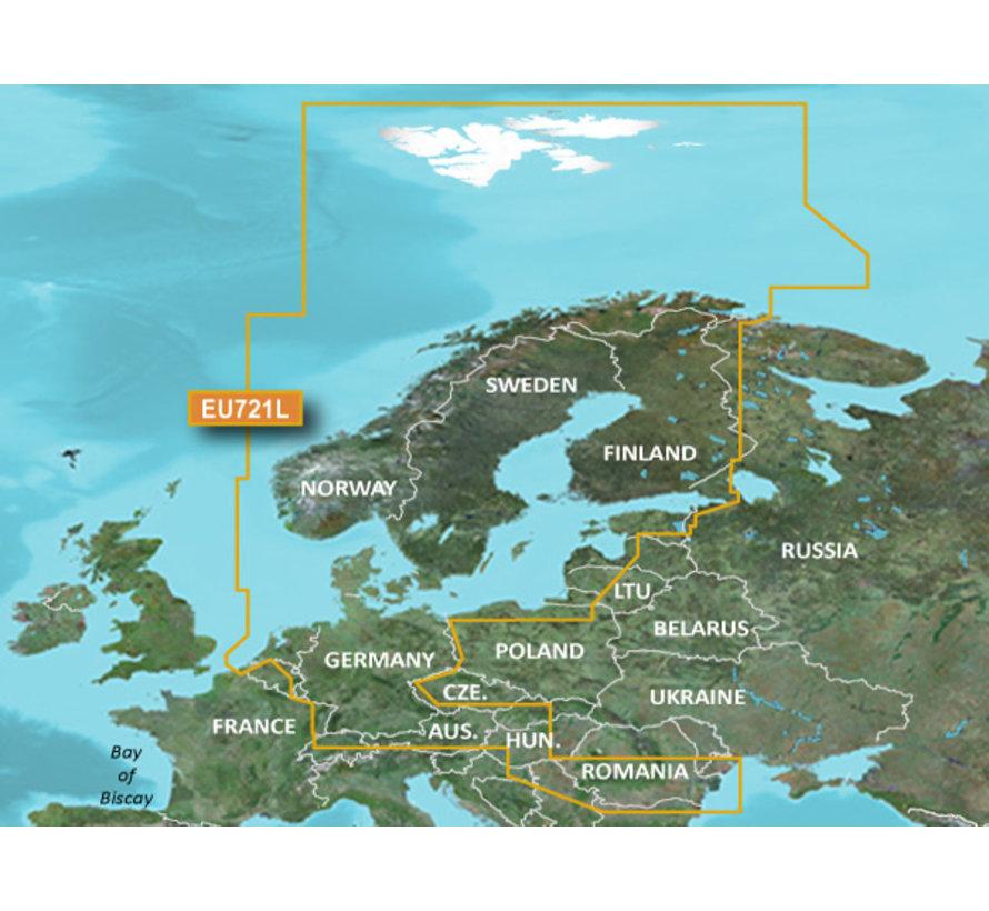 VEU721L BlueChart  g3 Vision Noord Europa