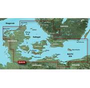 Garmin HXEU021R Denemarken Oost-Zweden Zuidoost  BlueChart g3 kaart