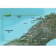 Garmin Trondheim-Tromsø VEU053R  BlueChart g3 Vision kaart