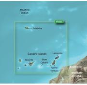 Garmin Madeira en Canarische eilanden g2 Vision HD kaart