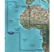 Garmin West-Afrika  BlueChart g2 HD kaart