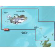 Garmin IJsland tot Orkney BlueChart g3 kaart- HXEU043R