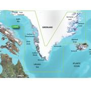 Garmin Groenland BlueChart g3 Vision kaart VEU064R