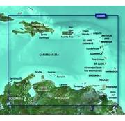 Garmin Caribisch gebied BlueChart g2 Vision HD kaart VUS030R