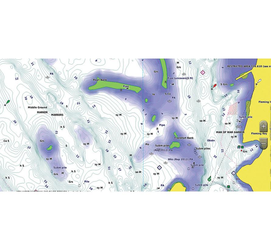 Zwarte Zee en Azov Zee BlueChart g3 Vision kaart