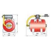 Vetus HF2419 hydrophoor met 19 liter tank