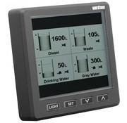 Vetus grafisch uitleesvenster voor ultrasone niveausensor