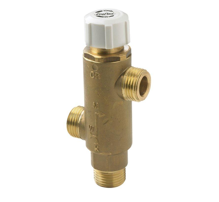 thermostatische mengkraan voor boilers 30-70°C