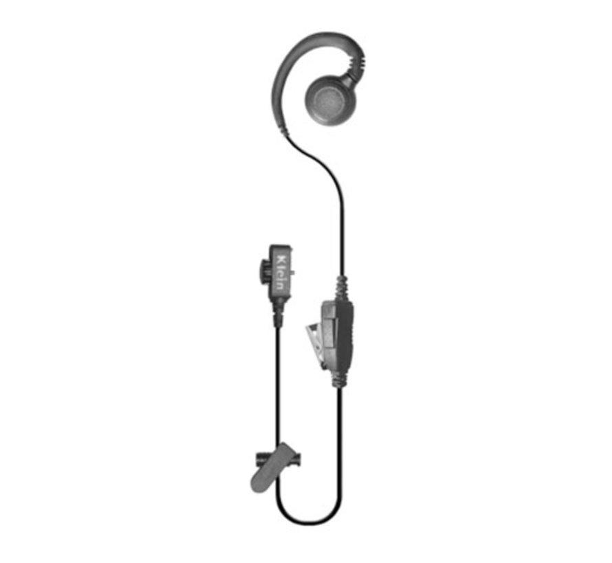 wired headset  PTT voor XP5s en XP8