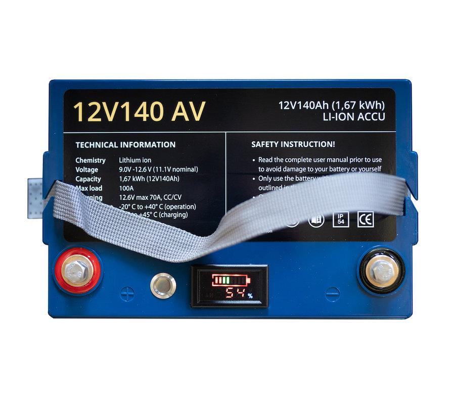 12V140 AV li-ion accu