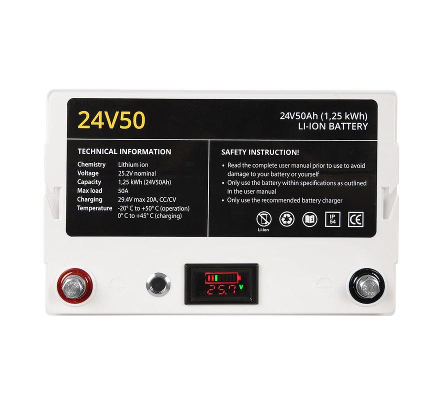 24V50 li-ion accu