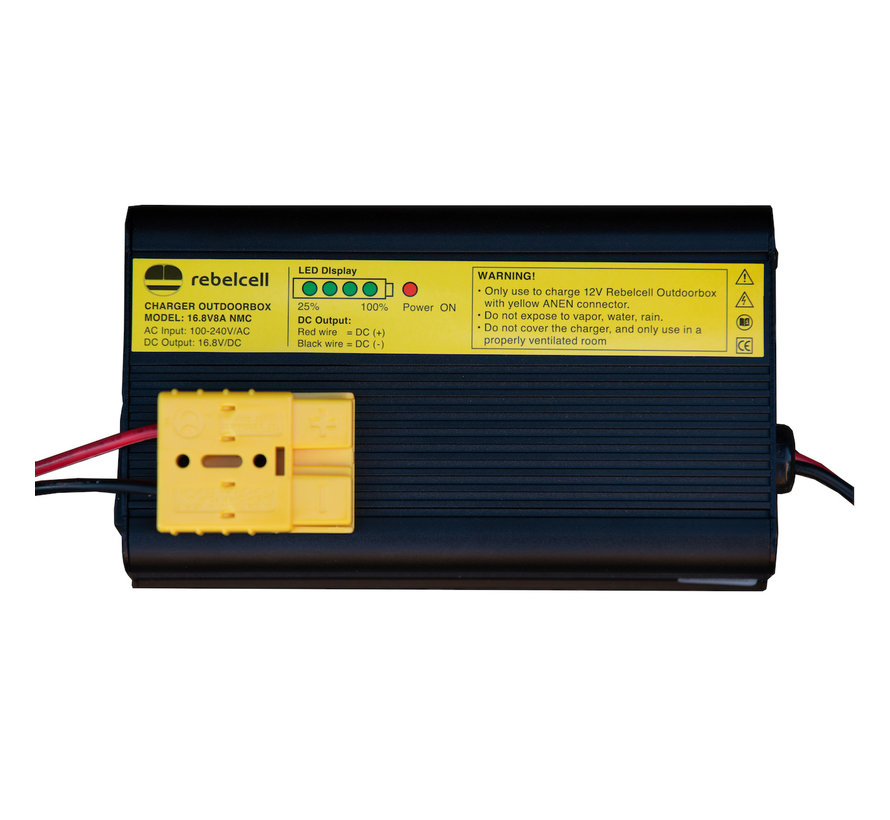 16.8V8A Outdoorbox lader