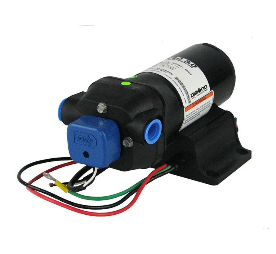 Drinkwaterpomp 12V - 60 psi - 19 ltr