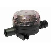 Jabsco fijn filter inline 19mm - slang