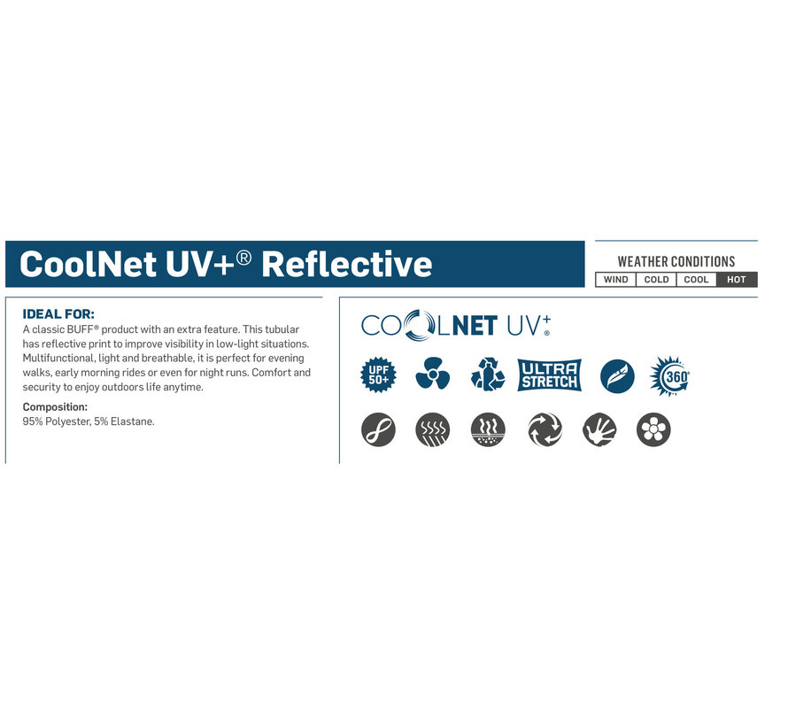 Coolnet Uv+ Reflective R-Blue